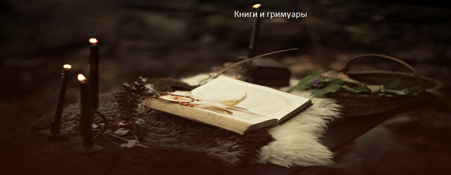 Книги и гримуары