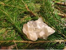 Дымчатый кварц. Сросток скелетных кристаллов.
