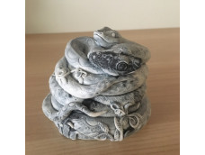 Шкатулка Влюбленные змейки
