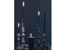 Голубая парафиновая свеча