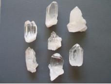 Маленькие кристаллы кварца