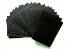 Черная бумага.